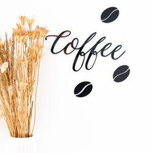 Coffeeskilt i sort´